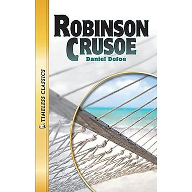 Saddleback Educational Publishing® Timeless Classics; Robinson Crusoe, Audio Package