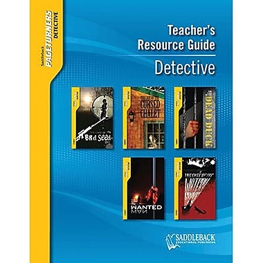 Saddleback Educational Publishing® Pageturners Detective Teacher's Resource Guide CD; Grades 9-12