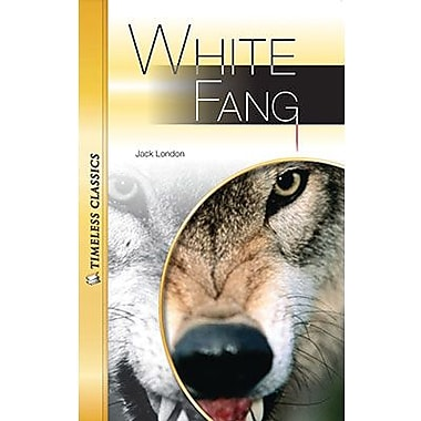 Saddleback Educational Publishing® Timeless Classics; White Fang, Audio Package, Read-Along