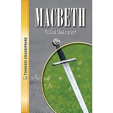 Saddleback Educational Publishing® Timeless Shakespeare; Macbeth, Audio Package, Read-Along