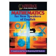 Saddleback Educational Publishing® Mathematics for New Speakers of English; Student Text