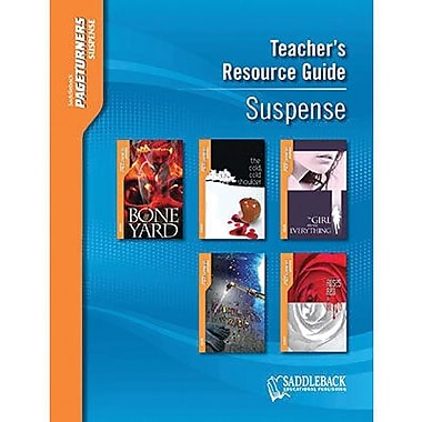 Saddleback Educational Publishing® Suspense Teacher's Resource Guide CD, Pageturners, Grades 9-12