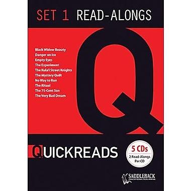Saddleback Educational Publishing® QuickReads 1; Read-Along Set, Grades 9-12