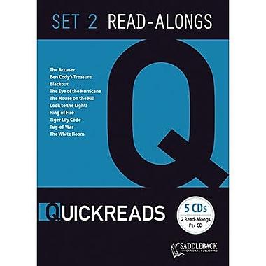 Saddleback Educational Publishing® QuickReads 2; Read-Along Set, Grades 9-12