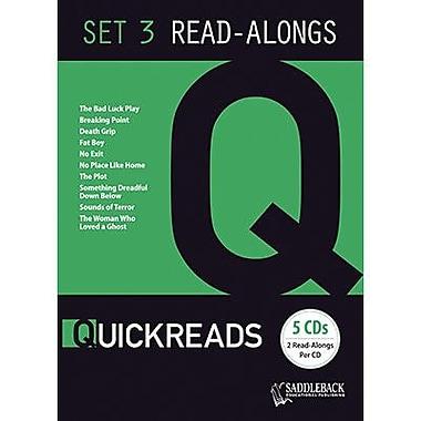 Saddleback Educational Publishing® QuickReads 3; Read-Along Set, Grades 9-12