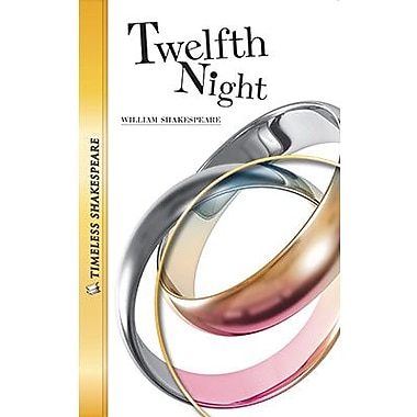 Saddleback Educational Publishing® Timeless Shakespeare; Twelfth Night, Audio Package, Read-Along