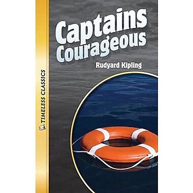 Saddleback Educational Publishing® Timeless Classics; Captains Courageous, Audio Package, Read-Along