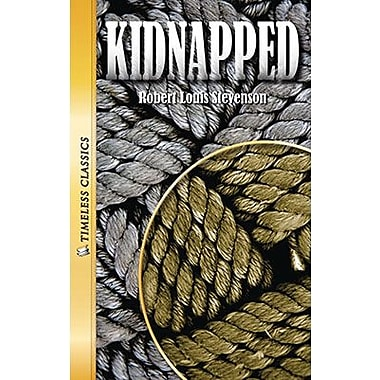Saddleback Educational Publishing® Timeless Classics; Kidnapped, Audio Package, Read-Along