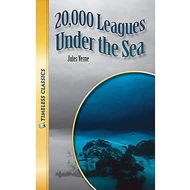 Saddleback Educational Publishing® Timeless Classics; 20,000 Leagues Under the Sea, Read-Along