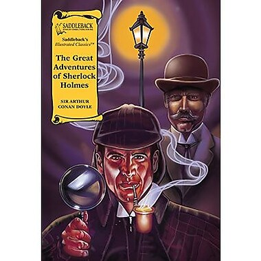 Saddleback Educational Publishing® The Great Adventures of Sherlock Holmes; Read-Along, Grades 9-12