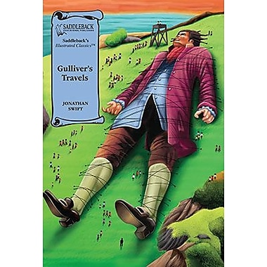 Saddleback Educational Publishing® Gulliver's Travels Read-Along; Grades 9-12