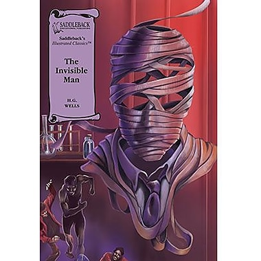 Saddleback Educational Publishing® The Invisible Man; Read-Along, Grades 9-12