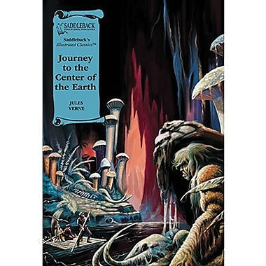 Saddleback Educational Publishing® Journey to the Center of the Earth; Read-Along, Grades 9-12