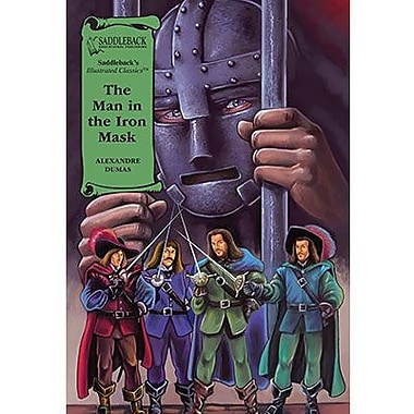 Saddleback Educational Publishing® The Man in the Iron Mask; Grades 9-12