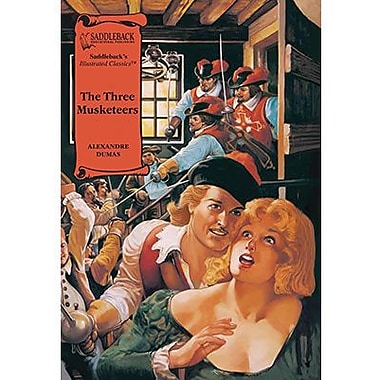 Saddleback Educational Publishing® The Three Musketeers; Read-Along, Grades 9-12