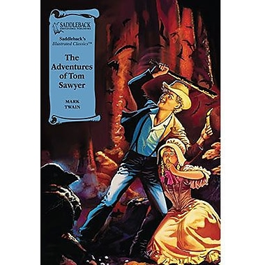 Saddleback Educational Publishing® The Adventures of Tom Sawyer; Read-Along, Grades 9-12