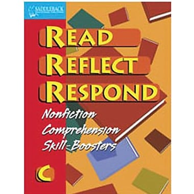 Saddleback Educational Publishing® Read Reflect Respond Book C; Student Book, Grades 5-12