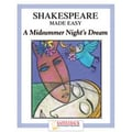 Saddleback Educational Publishing® Shakespeare Made Easy; A Midsummer Night's Dream, Reading Guide