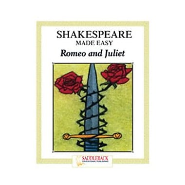 Saddleback Educational Publishing® Shakespeare Made Easy; Romeo and Juliet, Reading Guide