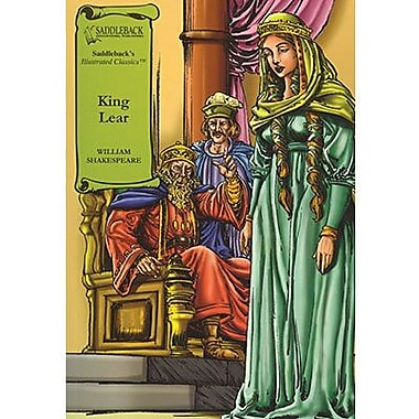 Saddleback Educational Publishing® King Lear Read-Along; Grades 9-12