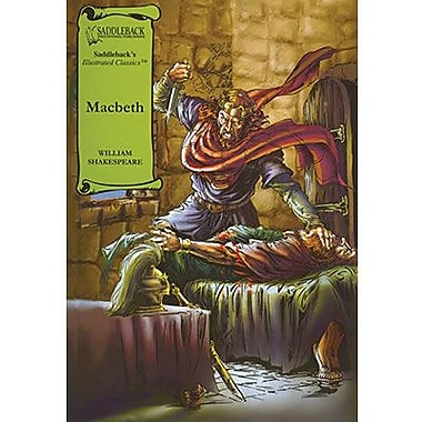 Saddleback Educational Publishing® Macbeth Read-Along; Grades 9-12