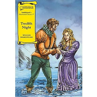 Saddleback Educational Publishing® Twelfth Night Read-Along;  Grades 9-12