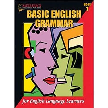 Saddleback Educational Publishing® Basic English Grammar Book 1; Grades 3 - 6