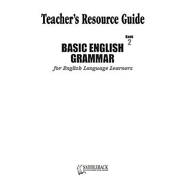 Saddleback Educational Publishing® Basic English Grammar Book 2 Teacher's Resource Guide CD