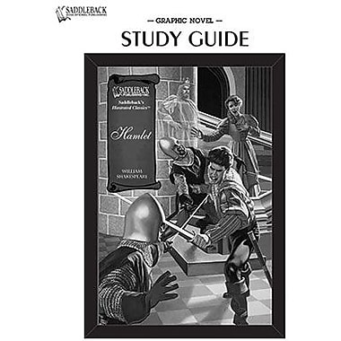 Saddleback Educational Publishing® Hamlet Study Guide CD;  Grades 9-12