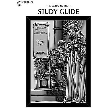 Saddleback Educational Publishing® King Lear Study Guide CD; Grades 9-12