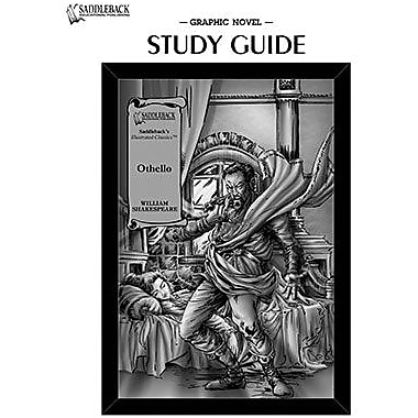 Saddleback Educational Publishing® Othello Study Guide CD; Grades 9-12