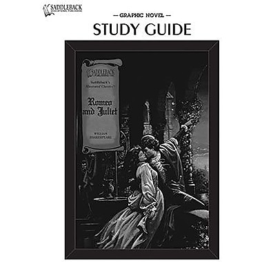 Saddleback Educational Publishing® Romeo and Juliet Study Guide CD; Grades 9-12