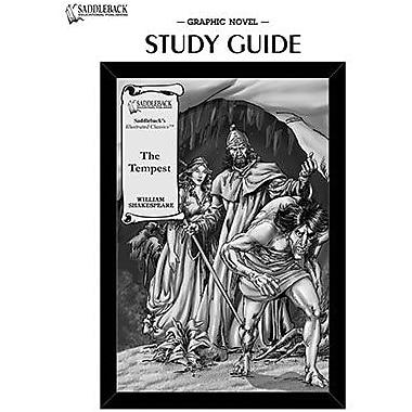 Saddleback Educational Publishing® The Tempest Study Guide CD; Grades 9-12
