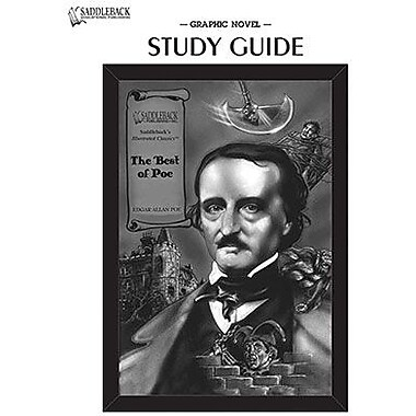 Saddleback Educational Publishing® The Best of Poe Study Guide CD; Grades 9-12