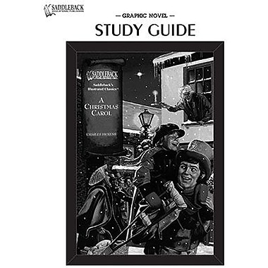 Saddleback Educational Publishing® A Christmas Carol Study Guide CD; Grades 9-12