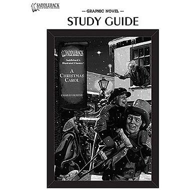 Saddleback Educational Publishing® A Christmas Carol Study Guide CD; Grades 9-12