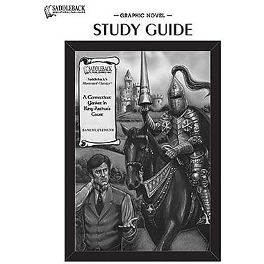 Saddleback Educational Publishing® A Connecticut Yankee in King Arthur's Court Study Guide CD;