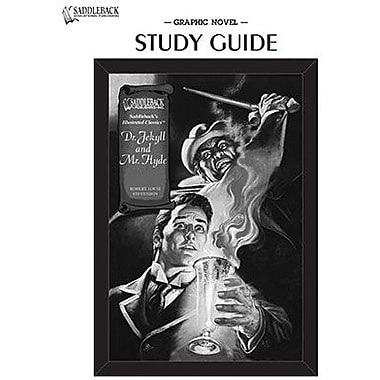 Saddleback Educational Publishing® Dr. Jekyll and Mr. Hyde; Study Guide CD, Grades 9-12
