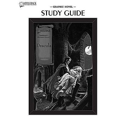 Saddleback Educational Publishing® Dracula; Study Guide, CD, Grades 9-12