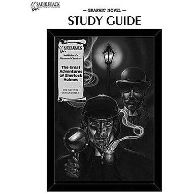 Saddleback Educational Publishing® The Great Adventures of Sherlock Holmes Study Guide CD;