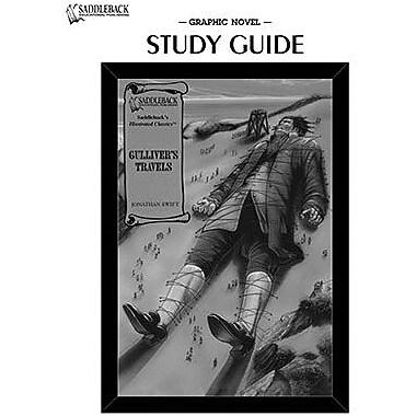 Saddleback Educational Publishing® Gulliver's Travels; Study Guide, CD, Grades 9-12