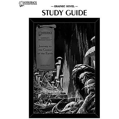 Saddleback Educational Publishing® Journey to the Center of the Earth Study Guide CD; Grades 9-12