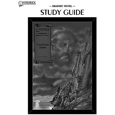 Saddleback Educational Publishing® The Mysterious Island Study Guide CD; Grades 9-12