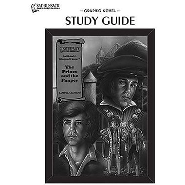 Saddleback Educational Publishing® The Prince and the Pauper Study Guide CD; Grades 9-12