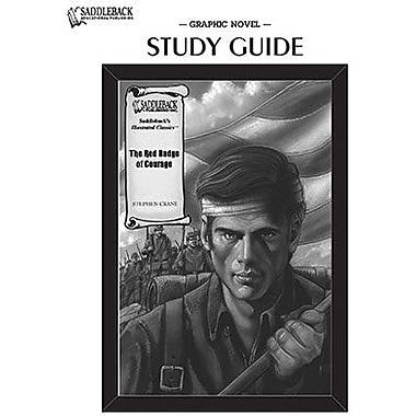 Saddleback Educational Publishing® The Red Badge of Courage Study Guide CD; Grades 9-12