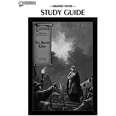 Saddleback Educational Publishing® The Scarlet Letter Study Guide CD; Grades 9-12