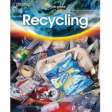 Saddleback Educational Publishing® Think Green Series; Recycling, RL 6, Grades 6 -12