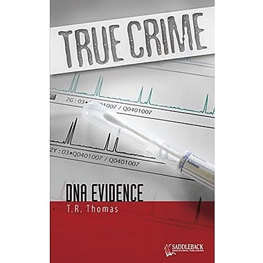 Saddleback Educational Publishing® True Crime Series; DNA Evidence, Grades 9-12