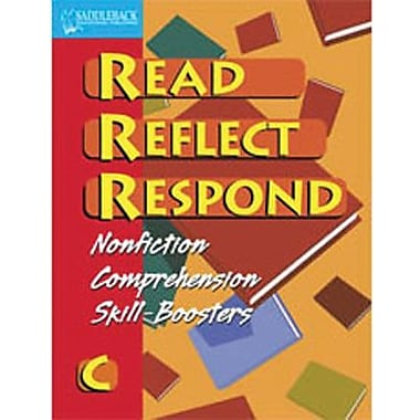 Saddleback Educational Publishing® Read Reflect Respond C Enhanced eBook; Grades 5-12