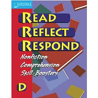 Saddleback Educational Publishing® Read Reflect Respond D Enhanced eBook; Grades 5-12